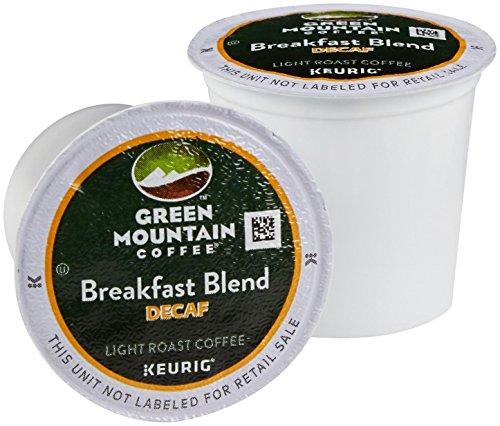 Green Mountain Coffee Breakfast Blend Decaf K-Cups - 100 ct (Decaf Mountain Green Breakfast)
