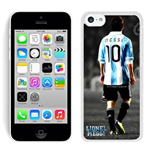 Lovely Lionel Messi 2 Case for iPhone 5c Generation in White