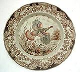 Johnson Brothers 10.75 inch dinner plate - Wild Turkeys