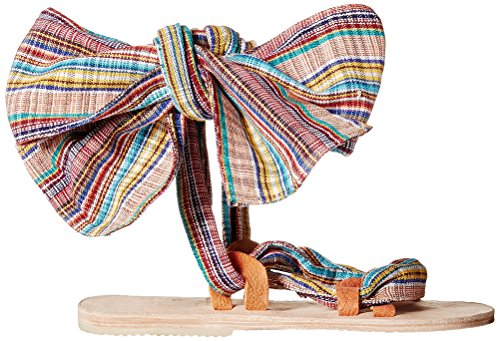 Fratello Vellies Womens Zanzibar Wrap Gladiator Sandal Stripe
