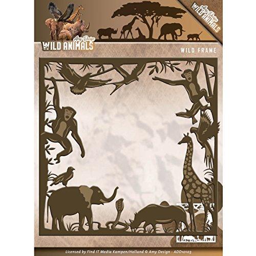 Amy Design Wild Animals - Wild Frame - Metal Die ADD10103