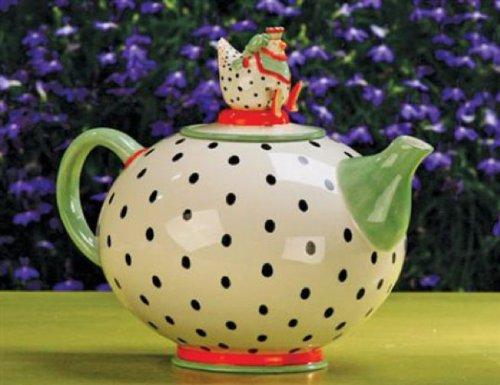 Patience Brewster Krinkles - Chicken Teapot