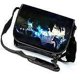 YOYOSHome Blue Exorcist Anime Cosplay Backpack Messenger Bag Crossbody Shoulder Bag (6)