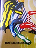 Front cover for the book Roy Lichtenstein: Brushstroke figures, 1987-1989 by Roy Lichtenstein
