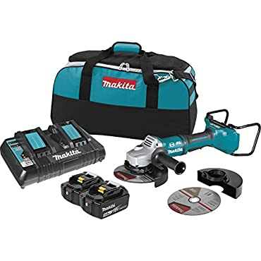 Makita 18V X2 LXT Brushless Cordless 7 Angle Grinder Kit