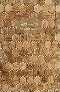 Amazon com: 2019 - 2020 18 month planner: July 19 - Dec 20  Monday
