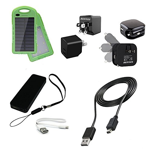 dual-mini-wall-outlet-charger-with-double-USB-power-ports-sized-pocket-for-travel-24-Amp-12W-with-USB-charge-cable-designed-for-the-Garmin-Montana-680-680t