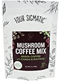Four Sigma Mushroom Coffee with Green Coffee Bean Extract