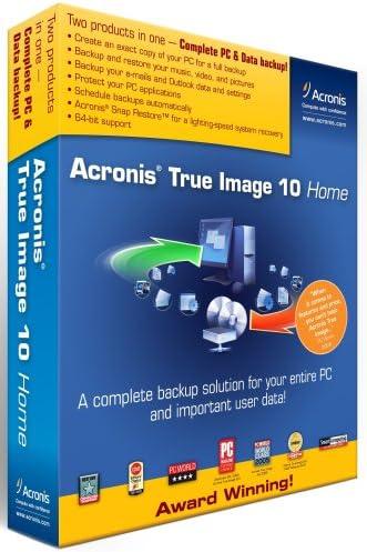 Amazon Com Acronis True Image 10 0 Home Old Version