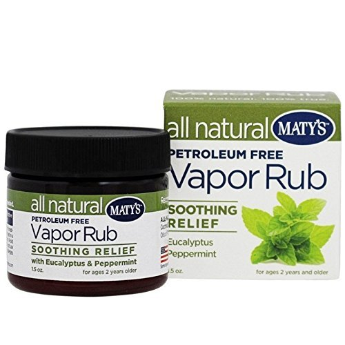 Maty's All Natural Vapor Rub Soothing Relief 1.50