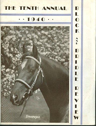 Cow Review - Block & Bridle Review 1940 Elsie Cow at World's Fair; Show Program insert