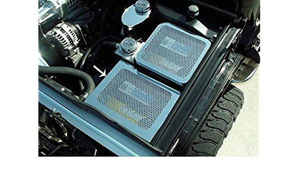 Amazon.com: Hummer H2 Fuse Box Cover Perforated 2003-2007 ... on