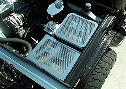 amazon com hummer h2 fuse box cover perforated 2003 2007 automotive 2006 Hummer H2 Fuse Box