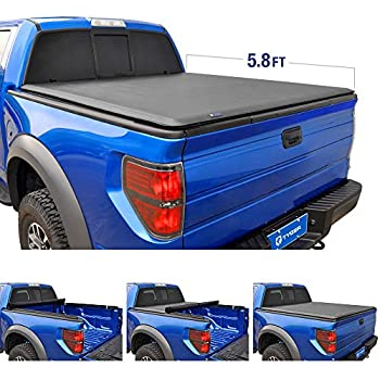 Amazon Com Tyger Auto T1 Roll Up Truck Bed Tonneau Cover
