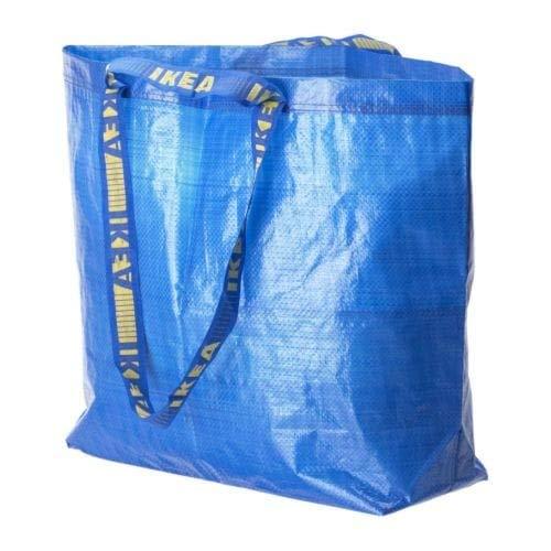 3 x Frakta azul tamaño mediano bolsa de la compra o la colada, juego de 3: Amazon.es: Bricolaje y herramientas