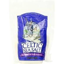 Celtic Sea Salt Bag, Flower of The Ocean, 0.5 LB