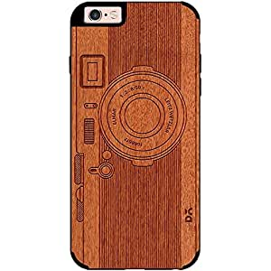 DailyObjects Classic Camera Real Wood Red Chestnut Case For iPhone 6s Plus