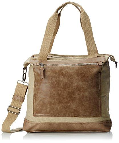 camel active Borsa Messenger, beige (Beige) - 220 901 23