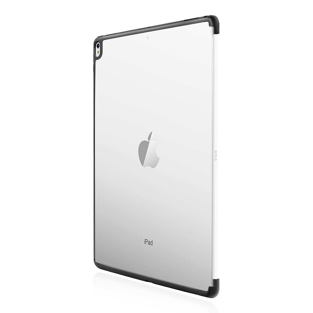AICase iPad Pro 12.9 2017 Case, Frosted Clear Hard Case [Perfect Match with Official Smart Keyboard] with Soft TPU Bumper [Corner Protection] Slim Fit Back Cover for iPad Pro 12.9 2017 Release by AICase