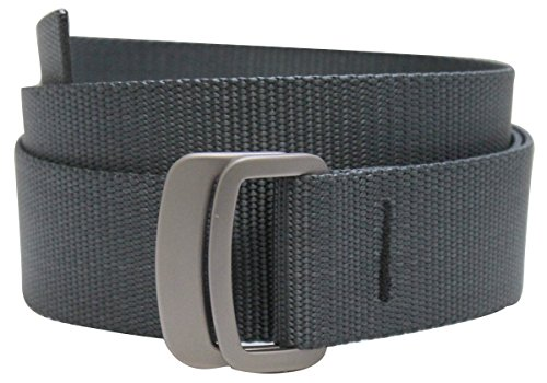 Bison Designs Subtle Clinch Belt, Graphite Gray, Medium/38