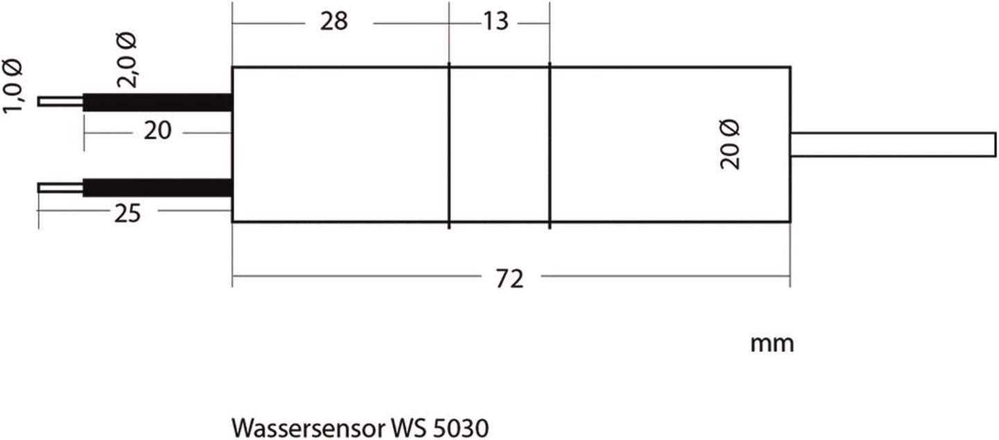 Niveau d/'eau Interrupteur WPS 3000 plus min Max avec 2 capteurs exactement contrôler!