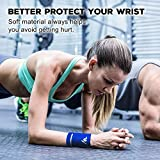 NEWZILL Wrist Wallet (Wristband) with Zipper