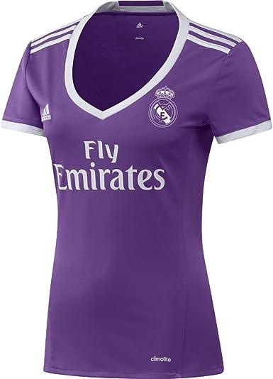 adidas Real Madrid A JSY W Camiseta 2ª Equipación Real Madrid CF 2015/16 Mujer