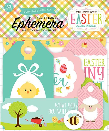 Echo Park Paper Company Celebrate Easter Frames & Tags Ephemera ()