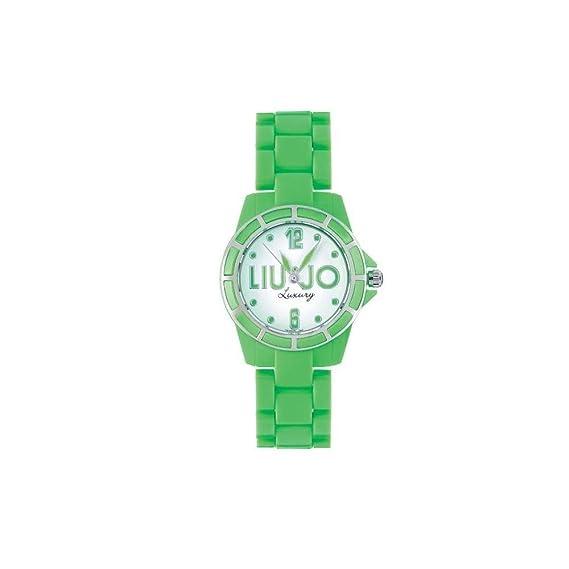 Liu-Jo Orologio Donna in Acciaio e Plastica Verde c62750a6904
