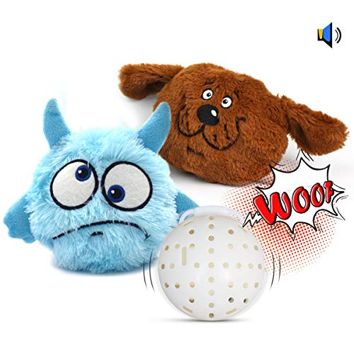 Pet Leso Interactive Dog Toys - Squeaky Plush Dog Toys with