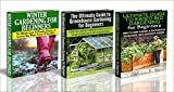 flower bed designs Gardening Box Set #11: Greenhouse Gardening for Beginners & The Ultimate Guide to Raised Bed Gardening for Beginners & Winter Gardening for Beginners (Raised ... Flowers, Garden Designs, Garden Guide)