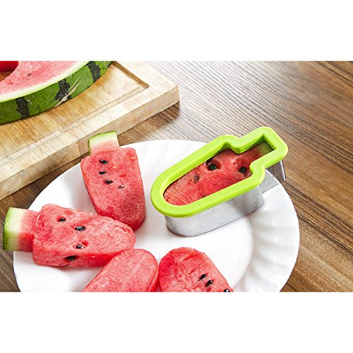 VIPASNAM-Creative Diced Watermelon Tool Popsicle Shape Mold Cutter Kitchen Supply(random - In Mall Fairfax
