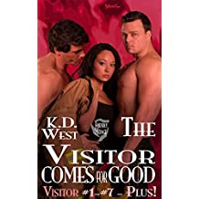 The Visitor Comes for Good: A Friendly MMF Ménage Tale (Friendly Menage Tales)