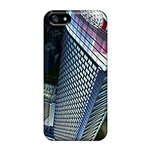Defender Cases Case For Iphone 4/4S Cover , 3d Skyscraper Pattern Black Friday