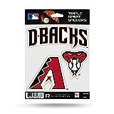Arizona Diamondbacks Triple Sticker Multi Decal Spirit Sheet Auto Home Baseball