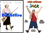 Robin Williams Classic Collection: Mrs. Doubtfire & Jack 2-Movie Bundle