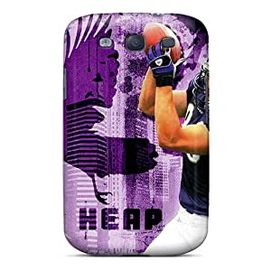 Shockproof Cell-phone Hard Covers For Samsung Galaxy S3 (CAI14335CFuy) Provide Private Custom Trendy Baltimore Ravens Pictures