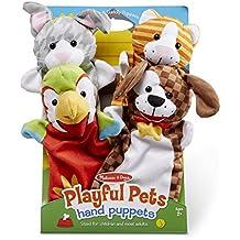 Melissa & Doug Playful Pets Hand Puppets