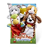 Toys : Melissa & Doug Playful Pets Hand Puppets