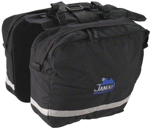 Jandd Saddle Bag Pannier, Black