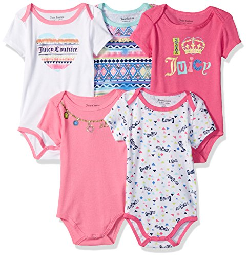 juicy-couture-baby-girls-5-pack-bodysuits-pink-mint-0-3m
