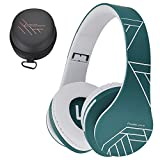 PowerLocus Bluetooth Over-Ear Headphones, Wireless Stereo Foldable Headphones Wireless and Wired Headsets