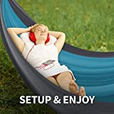 ToTheTop-Durable-Double-Camping-Hammock-for-Outdoor-Hiking-and-Backpacking-Lightweight-Compact-and-Breathable-210T-Parachute-Nylon-Portable-mildew-resistant-Hammocks-for-Camping-Gear