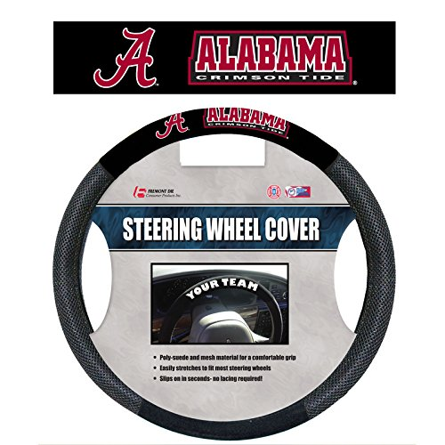 Alabama Crimson Tide Mesh Steering Wheel Cover--(Package of 2)