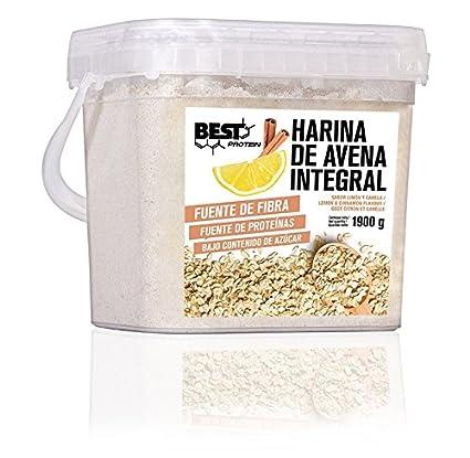 Best Protein Harina de Avena Limón Canela - 1900 gr