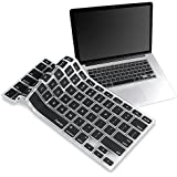 Insten BLACK Silicone Keyboard Cover Skin Compatible With MacBook Pro 13""