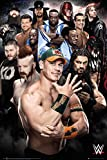 "WWE Superstars 2016 - Wrestling Poster / Print (John Cena, The Undertaker...) (Size: 24"" x 36"") (By POSTER STOP ONLINE)"