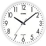 カシオ アナログ電波掛時計 秒針停止機能付 IQ-1070J-7JF