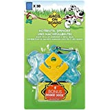 Bags on Board Dog Waste Bag Bone Dispenser with 30 Refill Bags