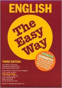 English the Easy Way (Barron's E-Z) by Harriet Diamond (1996-01-02)